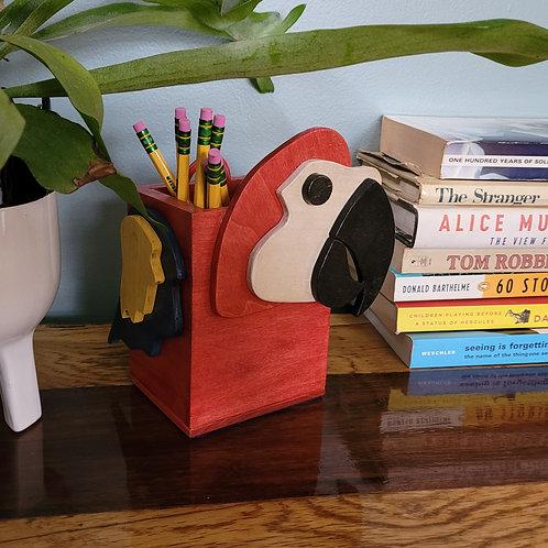 Parrot Pencil Box