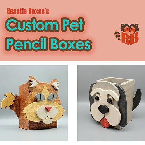 Custom Pet Pencil Box