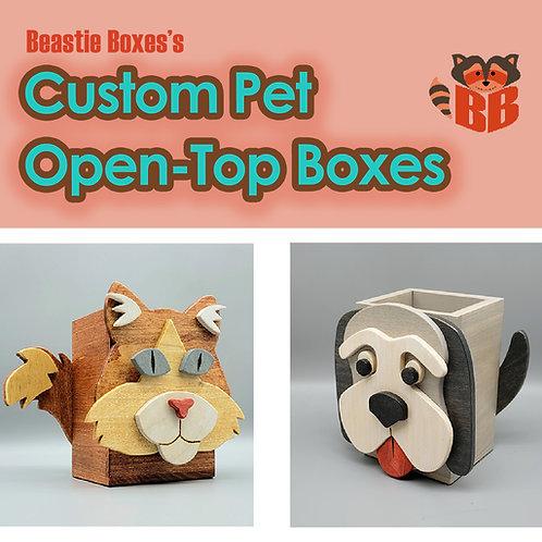 Custom Open-Top Box