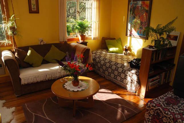 Farm-cottage living room
