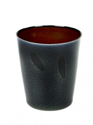 BECHER CONISCH M D8,5 H9,5 DARK BLUE/ RUST