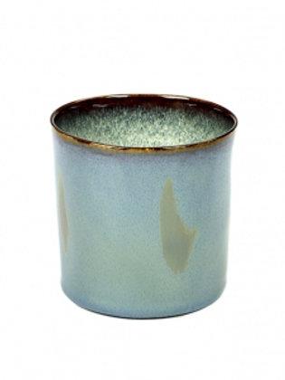 BECHER ZYLINDER HOCH D7,5 H7,5 SMOKEY BLUE / MISTY GREY