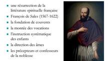 XVIIème : Le siècle des saints