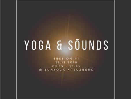 YOGA & SŌUNDS · Special Class mit dem SŌUNDS Kollektiv