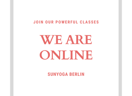 WE ARE ONLINE 🙌🏻