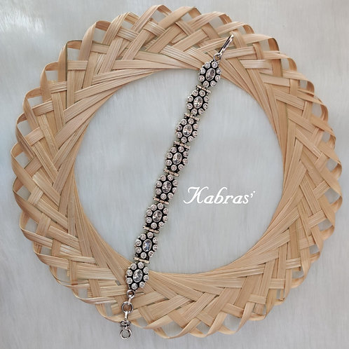 AD Cut Stone Bracelet