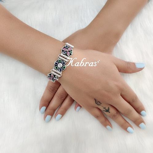 Floral - Leaf Bracelet