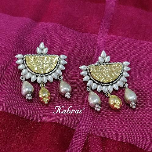 GJ Half Moon Earrings