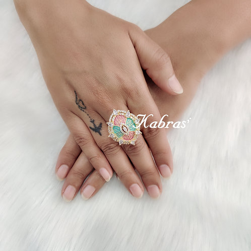 Oval Mina Ring