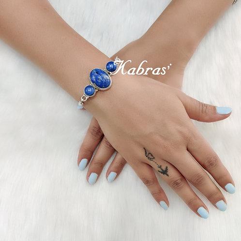 Lapis Trio Bracelet