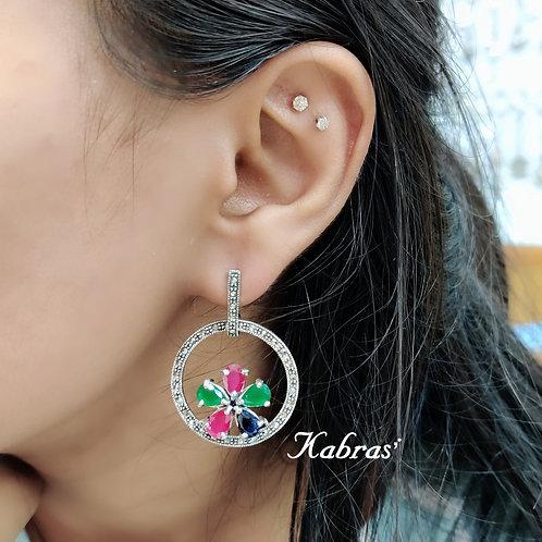 MC Floral Earrings