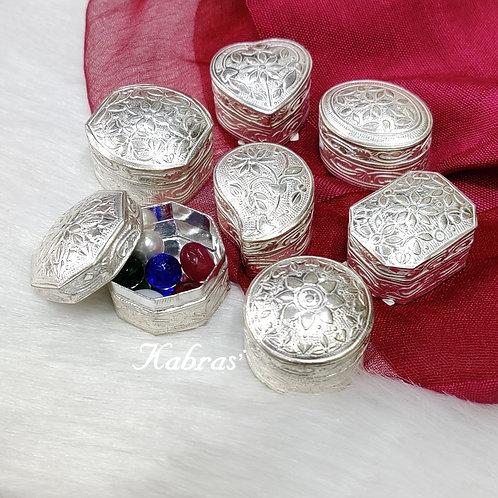 Mini Silver Boxes