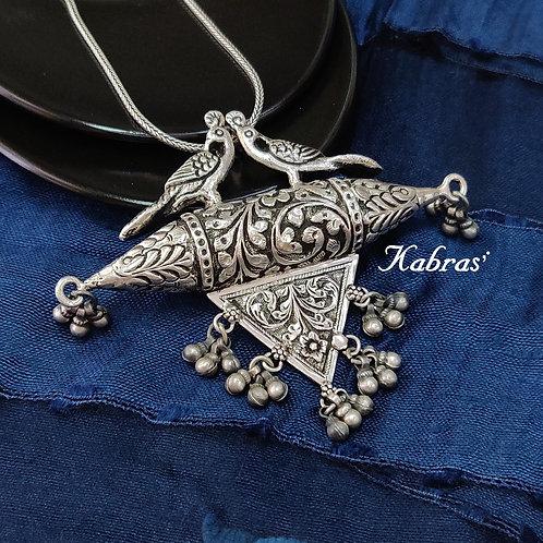 Mayur Nakshi Pendant