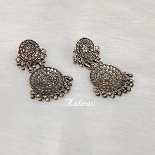 Vintage Two Layered Earrings