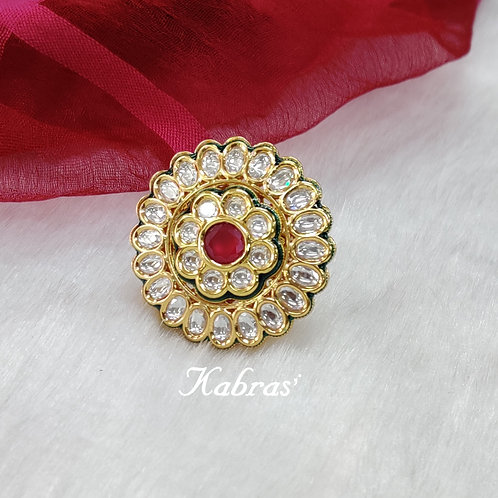 Traditional Floral Ring