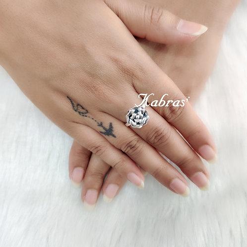 Flat Rose Ring