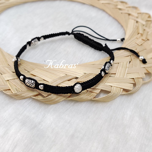 Thread Trio Anklet