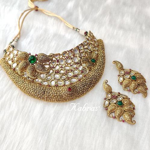 Marigold Necklace Set