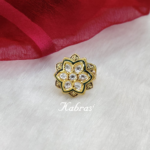 Star Floral Ring