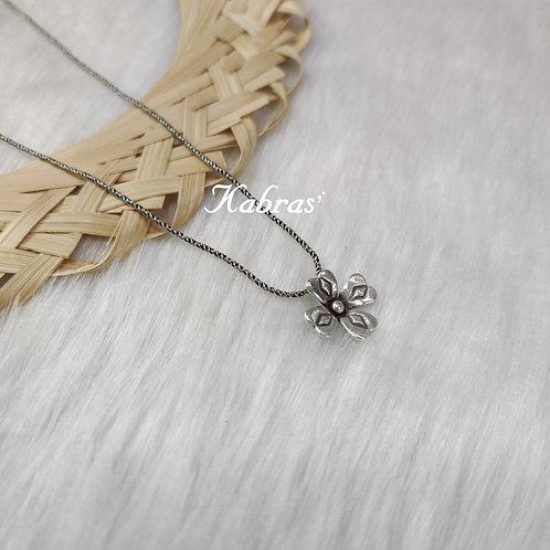 Floral Chain Pendant
