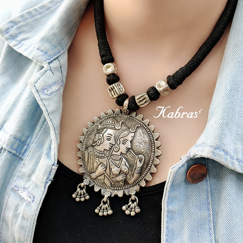 Radha Krishna Necklace
