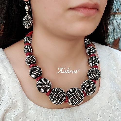 Rajwadi Rawa Necklace