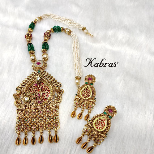 Paan Thewa Necklace