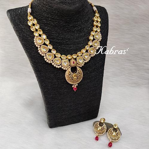Chandra Kundan Necklace