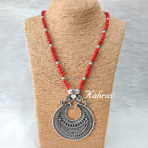 Chandrika Coral Necklace