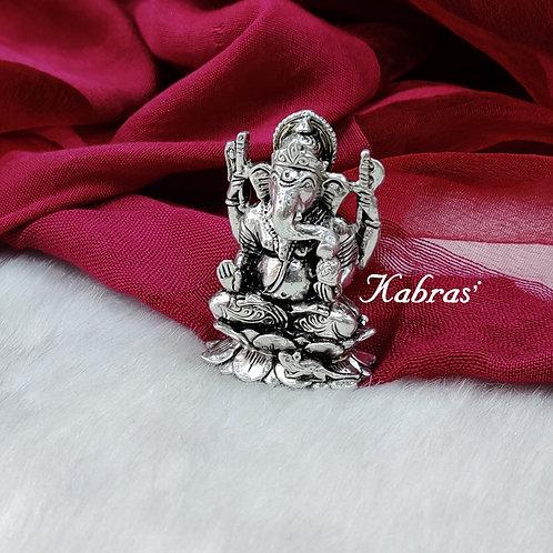 Ganpati On Lotus