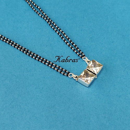 Double Square Mangalsutra