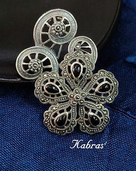 Silver Brooches - Brooches - 925 silver brooches - sterling silver brooches - mens accessories - mens brooches