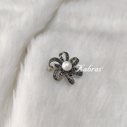 Floral Pearl Brooch Plus Pendant
