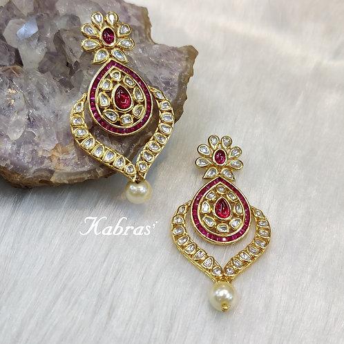 Royal Kundan Earrings