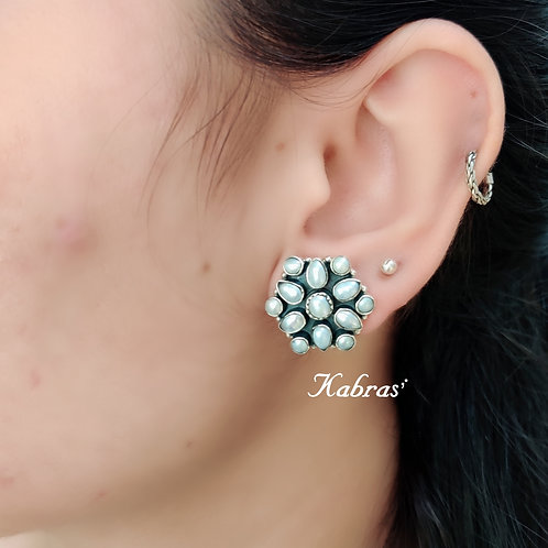 Pearl Combination Studs