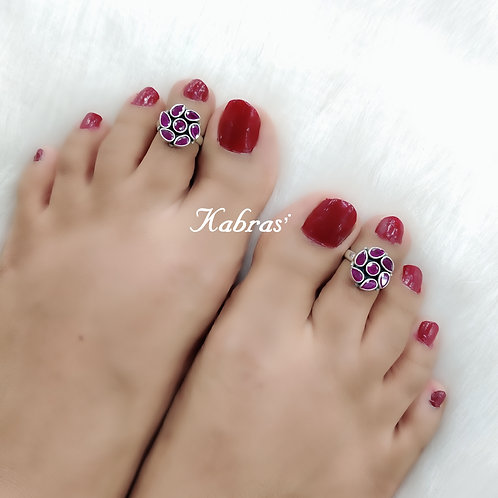 Floral Ruby Toering
