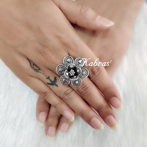 Filigree Rose Ring