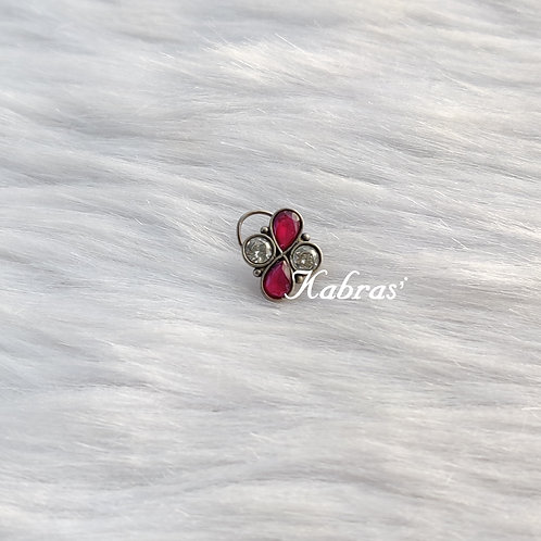Ruby-AD Wired Nose Pin