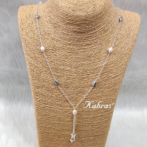 Leaf Pearl Long Chain