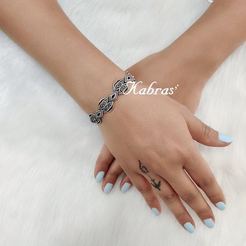 Quilled Marcasite Bracelet