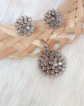 Pendants - Silver Pendants Sets - Pendant Sets - Everyday Jewellery - Work Jewellery - Stone Jewellery