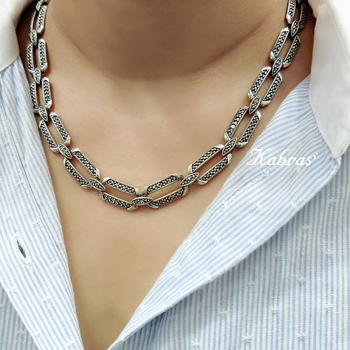 MC Linked Necklace