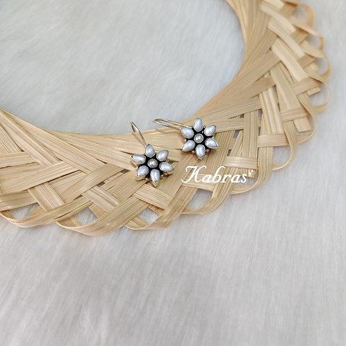 Pearl Floral Dangler