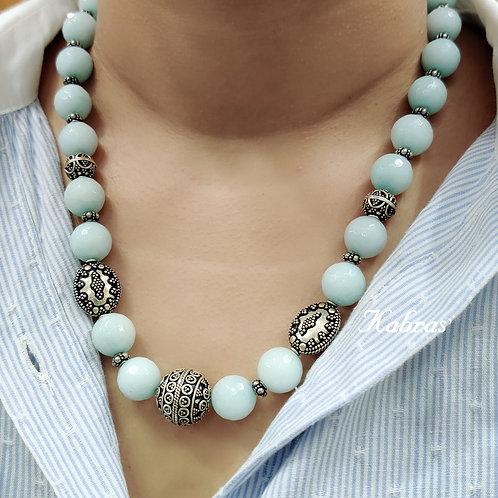Blossom Blue Necklace