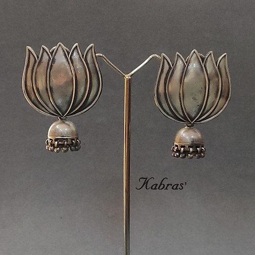 Lotus Jhumka