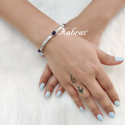 Amethyst Unisex Bracelet
