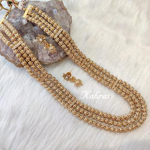Jadau Pearl Necklace