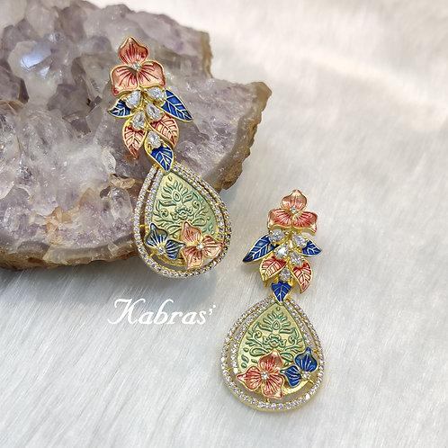 Floral Mina Earrings
