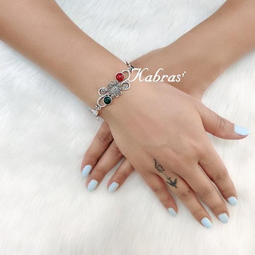 Floral Quilled Bracelet