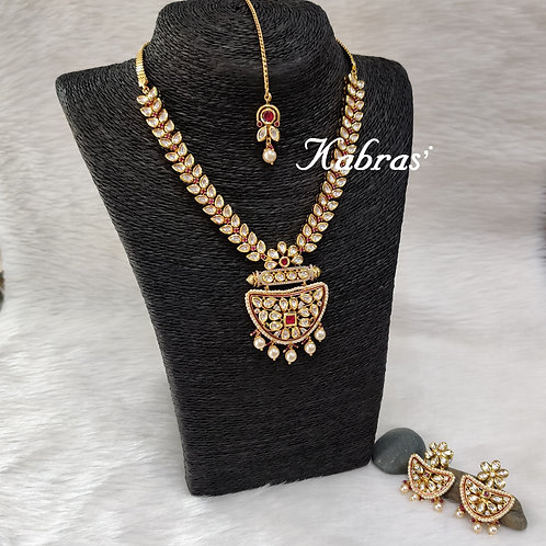 Kali Kundan Necklace